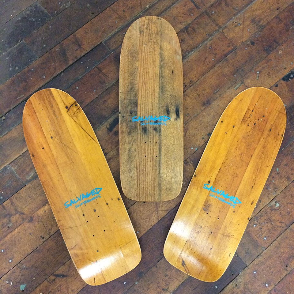 Salvaged Skateboards