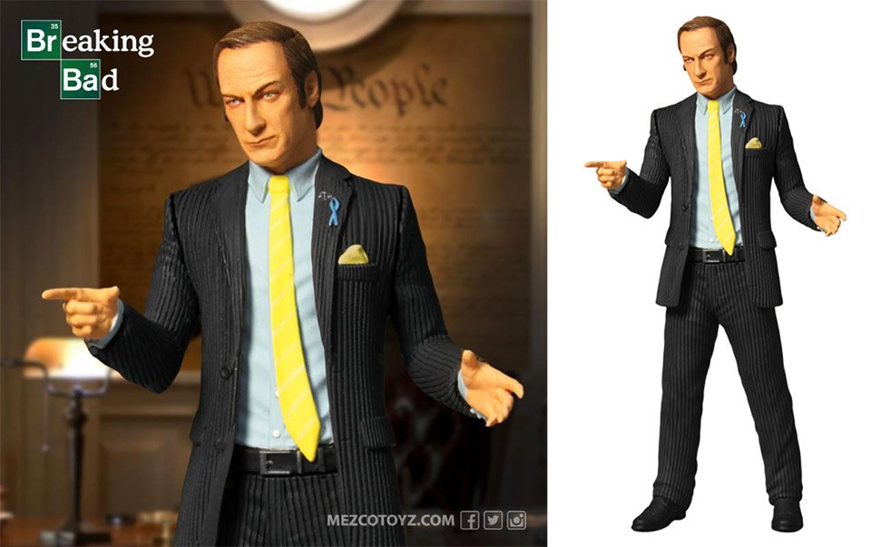Saul Goodman Action Figure