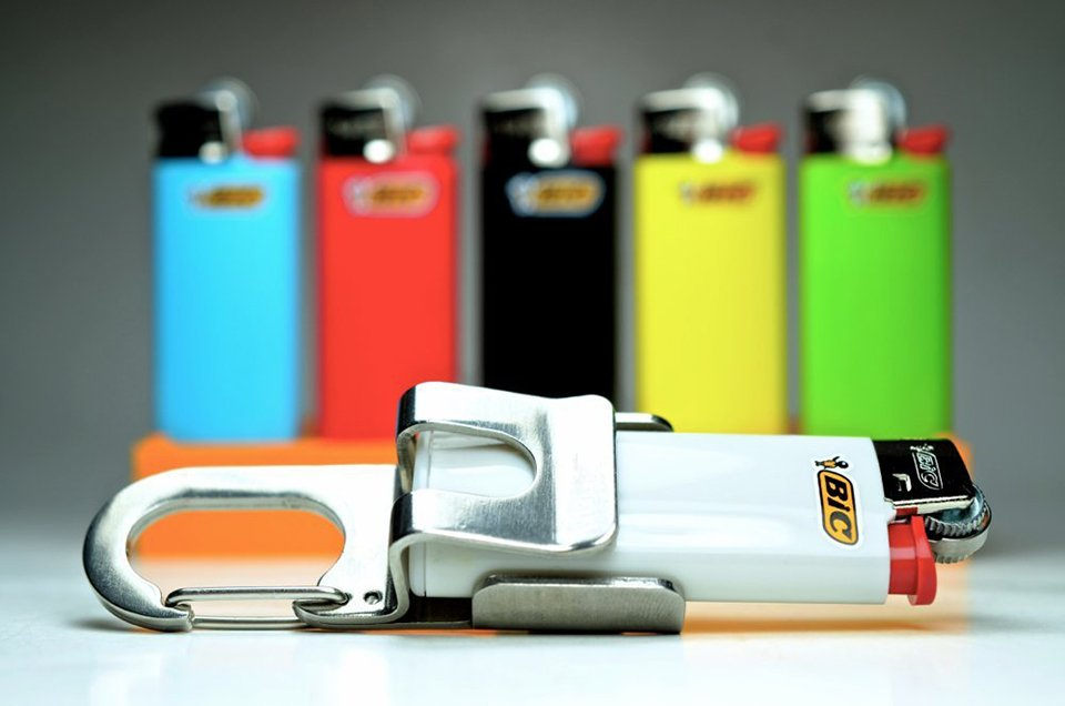 Screwpop Lighter Holder