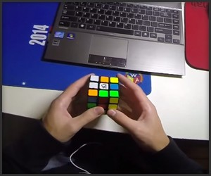 Solving a Rubik's Cube in 4.2s