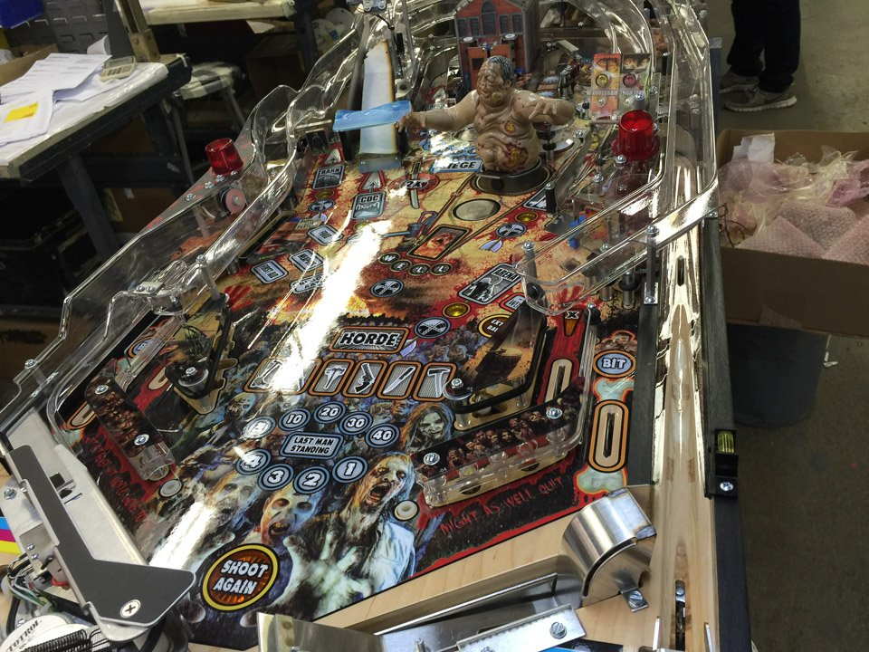 Making a Pinball Machine