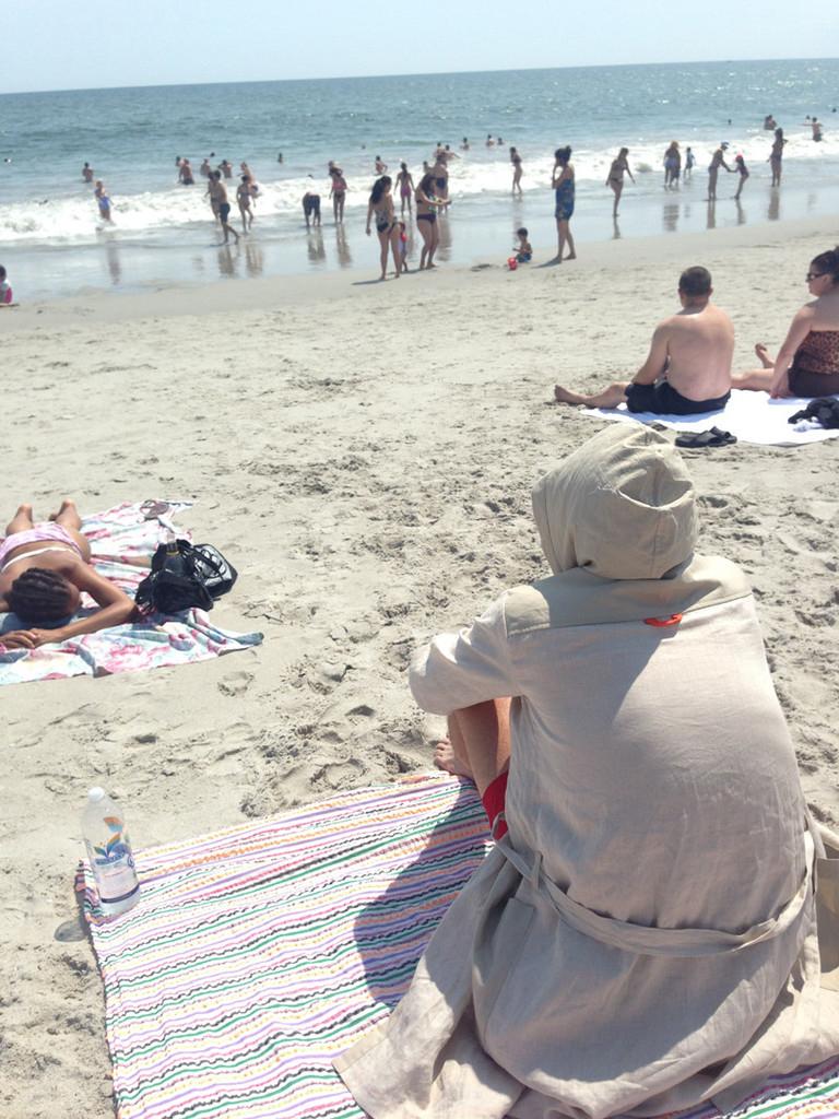 Summer/Beach Bathrobe