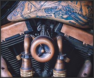 The Tattooed Motorcycle