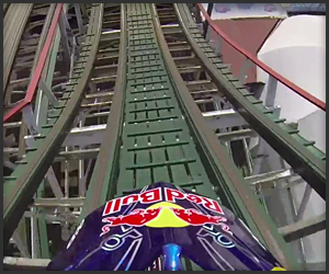 Trials Motorcycle Rollercoaster