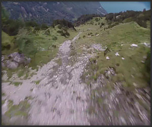 Bonzai Wingsuit POV Flight