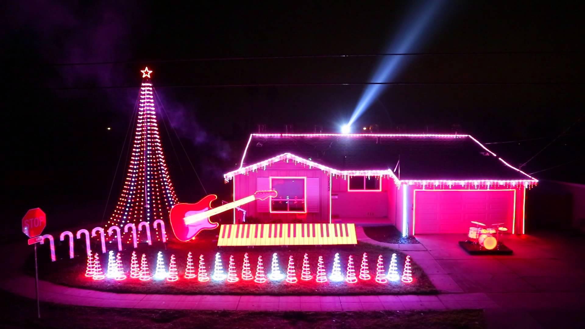 Star Wars Christmas Light Show