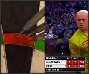 17 Perfect Darts in a Row