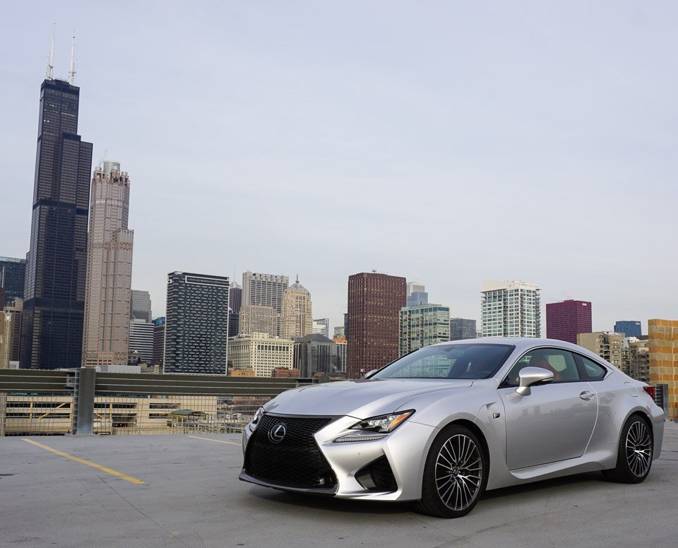 2015 Lexus RC F Liquid Platinum