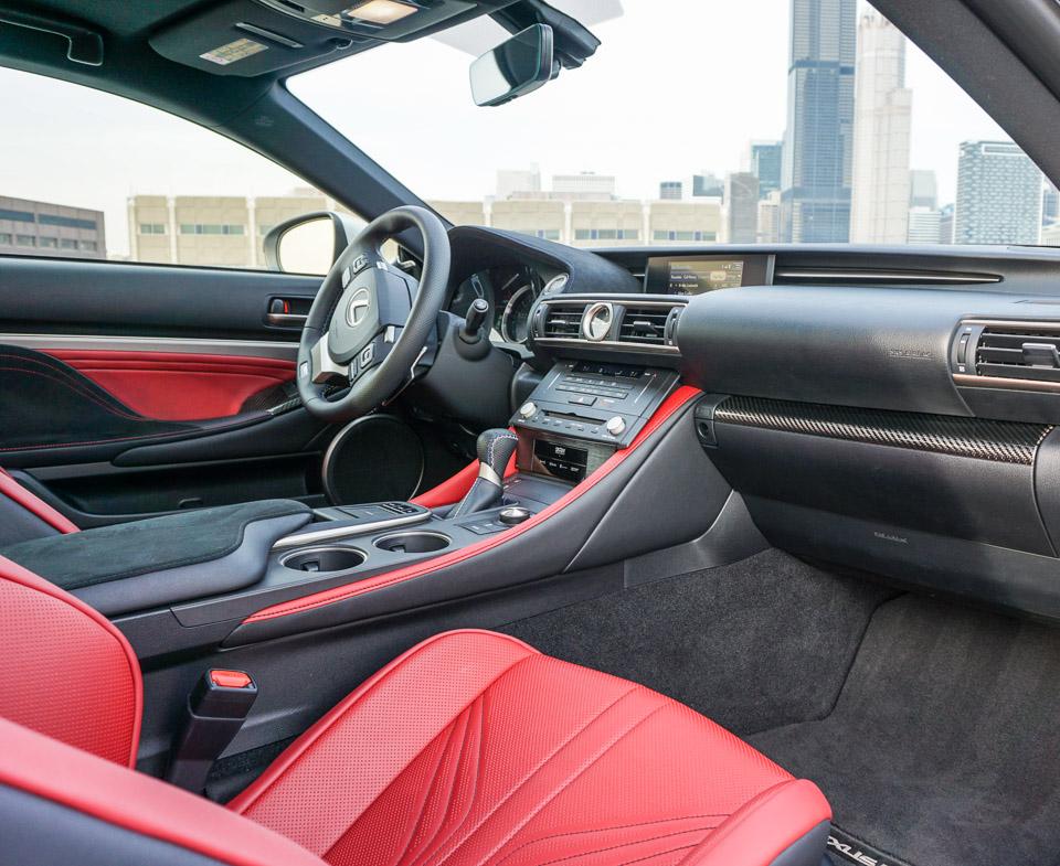 2015 Lexus RC F Liquid Platinum
