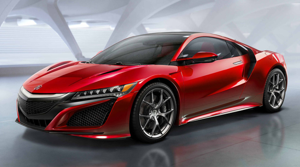 2016 acura nsx the awesomer. Black Bedroom Furniture Sets. Home Design Ideas