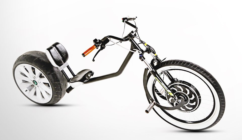 Chop-E Electric Bike - The Awesomer