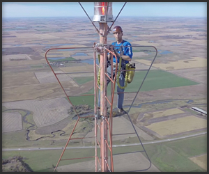 Climbing a 1500ft. Tower
