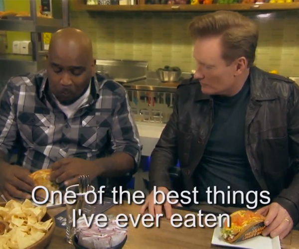 Conan Visits Taco Bell