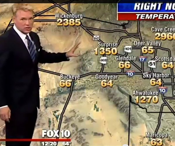 Crazy Hot Weather Forecast