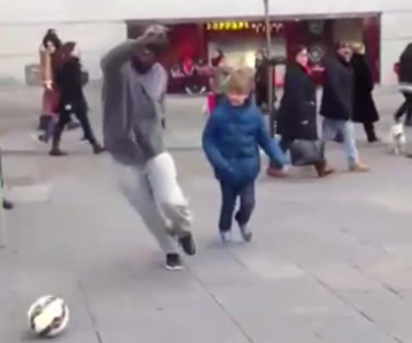 Cristiano Ronaldo Surprises Kid