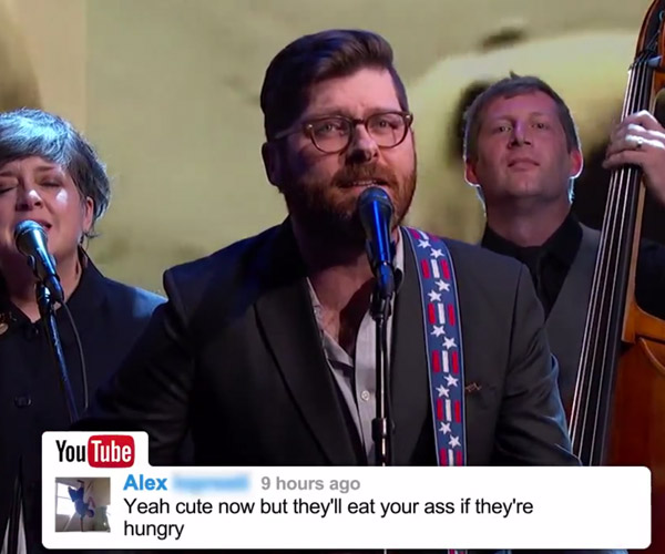 The Decemberists: YouTube Comments