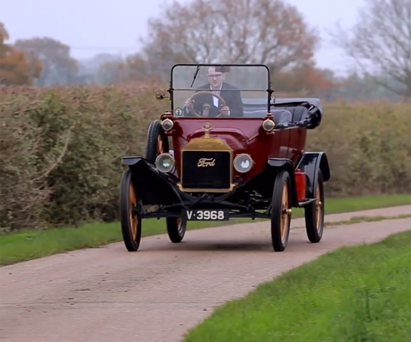 Driving the Ford Model T