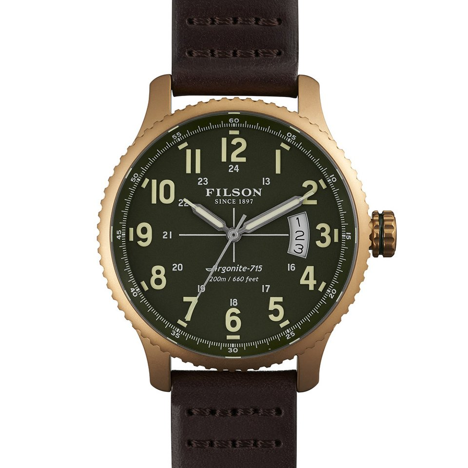 Filson x Shinola Watches