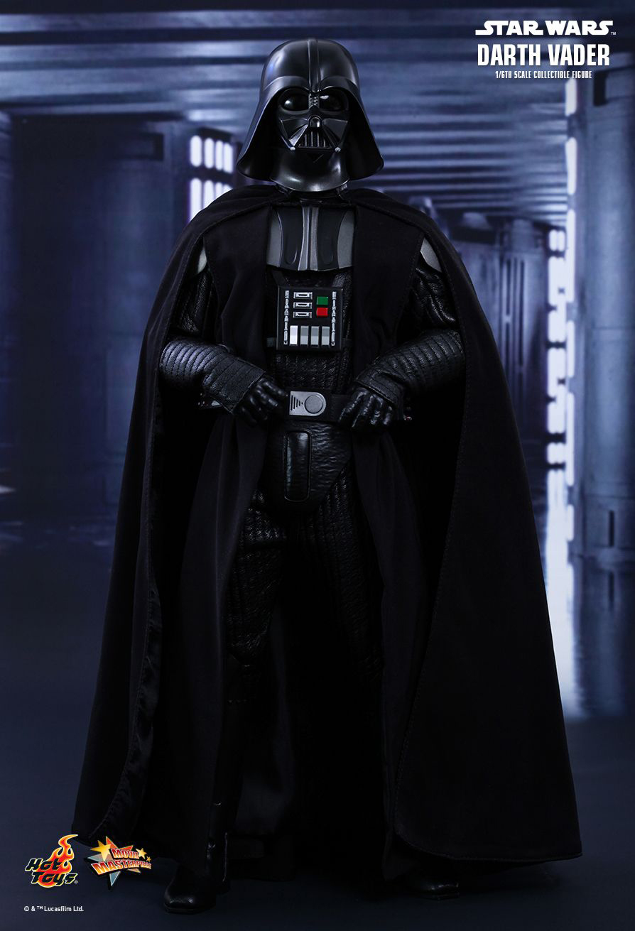 hot toys darth vader 1:6 scale - the awesomer