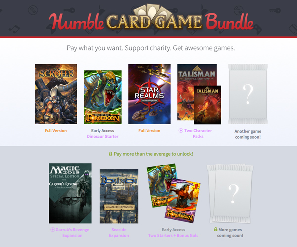 Humble Card Game Bundle