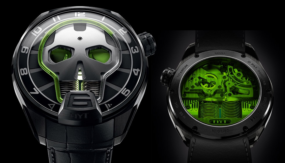 HYT Skull Watches