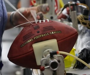 Making an NFL Football