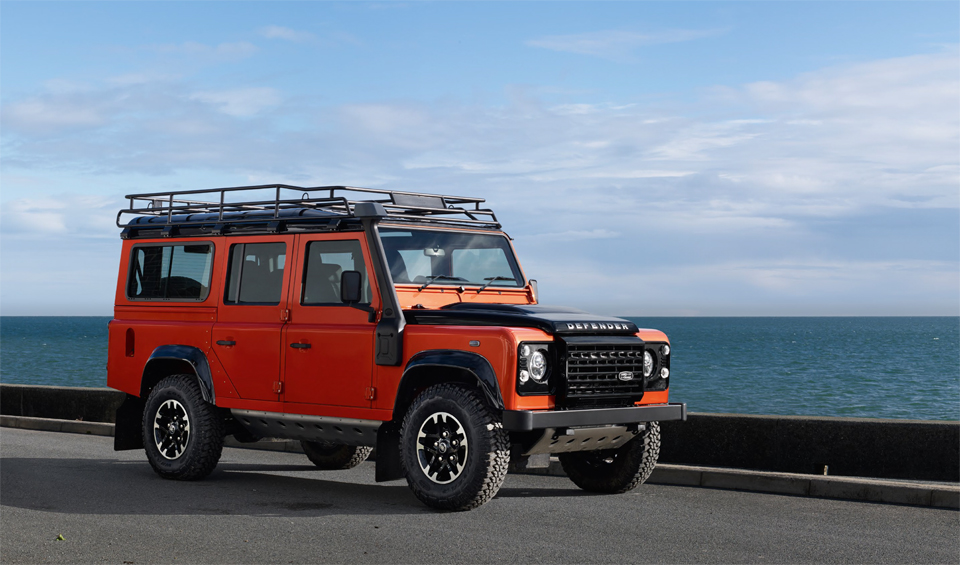 Land Rover Defender Celebration Series