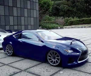 Lexus RC: Play Time