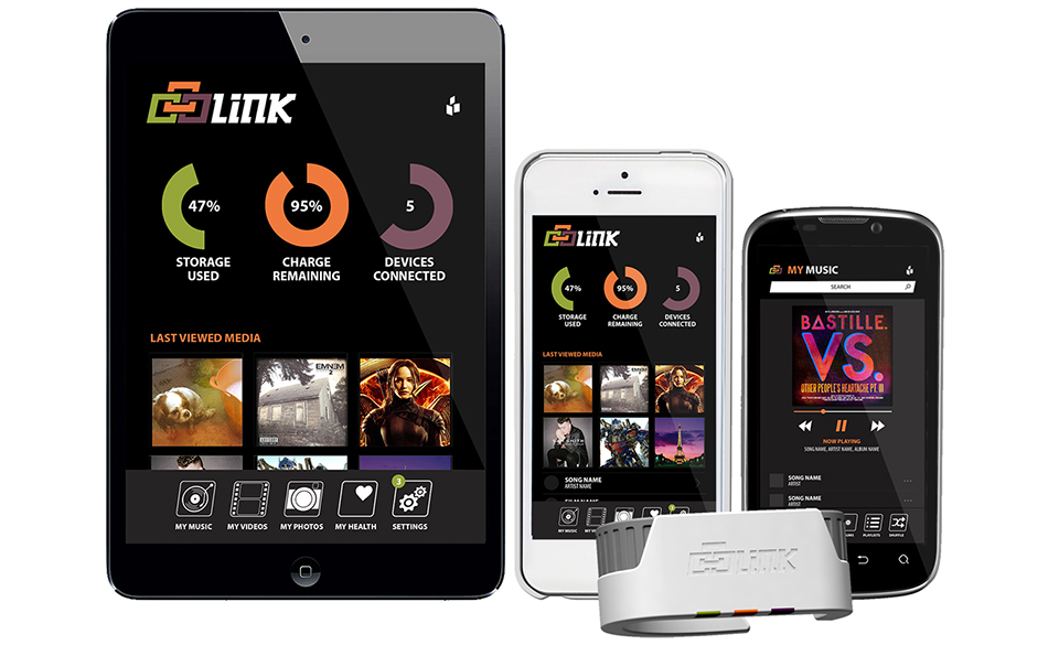 Link SSD Wristband Media Server