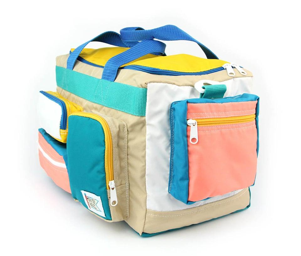 Neon Camp Bag