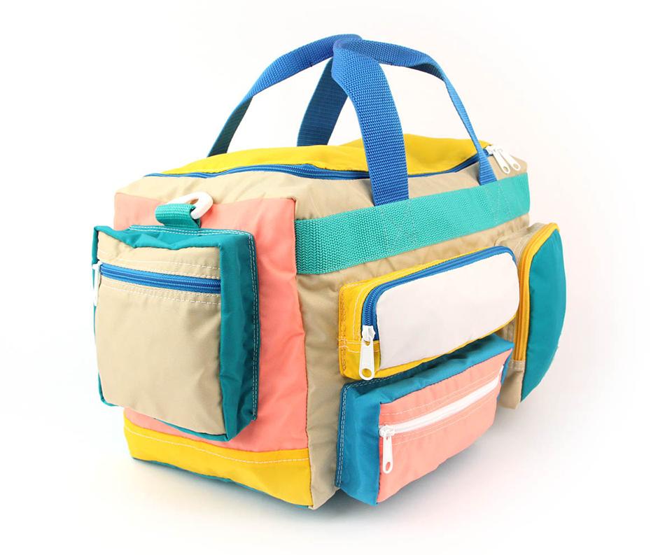 Neon Camp Bag 4 Jpg
