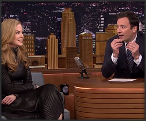 Kidman Blows Fallon's Mind