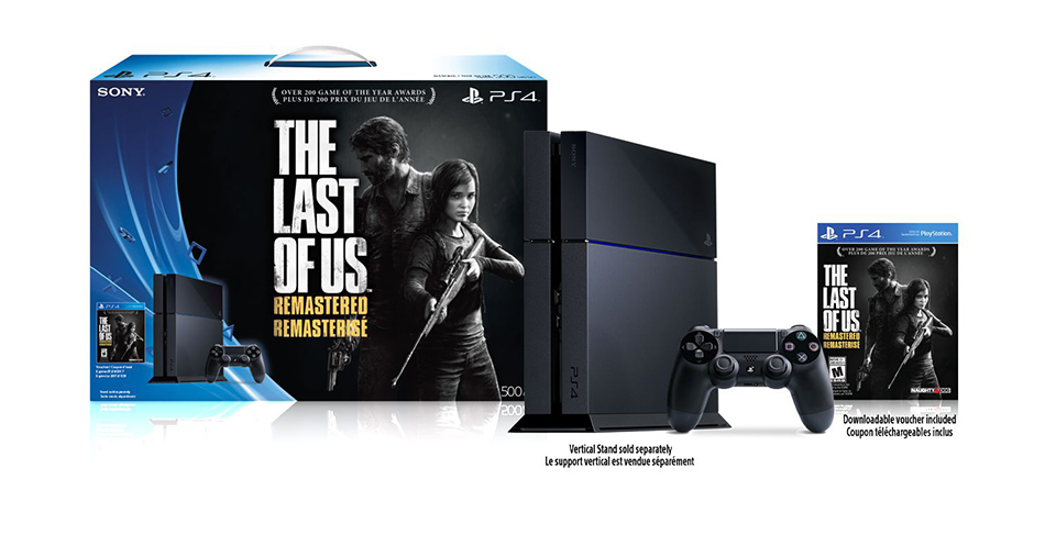 PS4 Last of Us Remastered Bundle