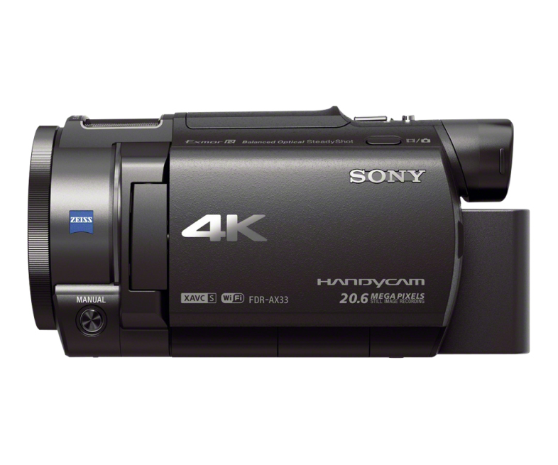 sony fdr ax33 4k handycam the awesomer. Black Bedroom Furniture Sets. Home Design Ideas