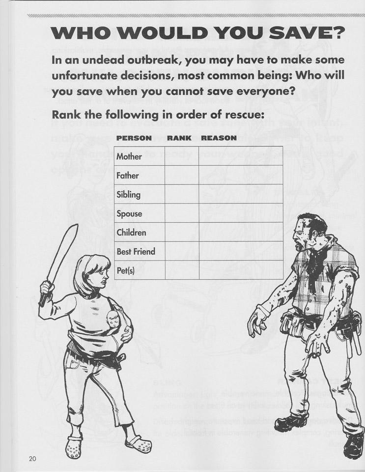 Win: Zombie Combat Field Guide