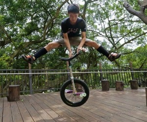 Freestyle Trials Unicycling