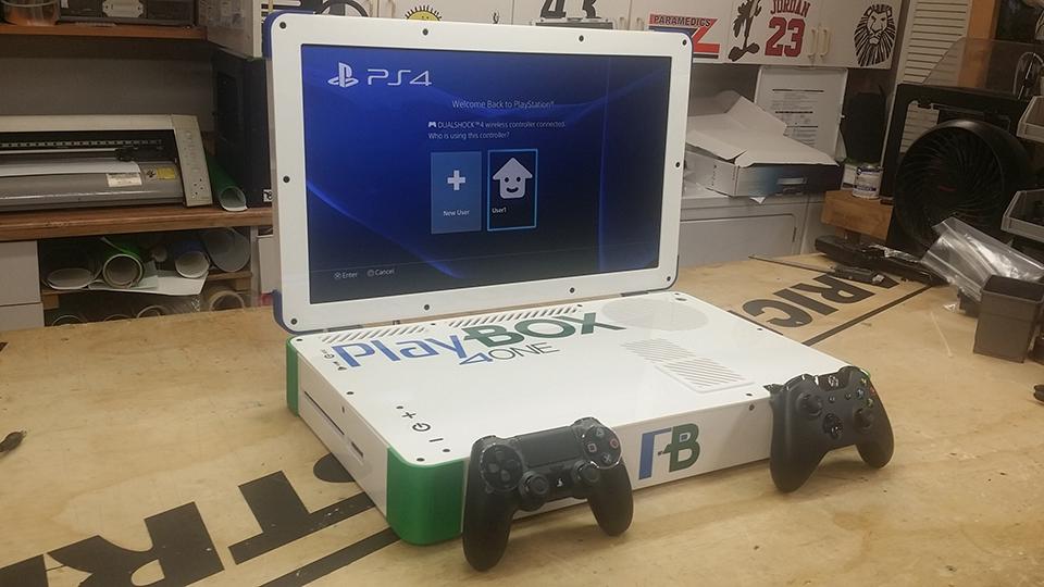 Xbox One & PS4 Laptop Case Mod