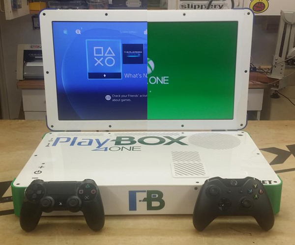 Xbox One & PS4 Laptop Case Mod