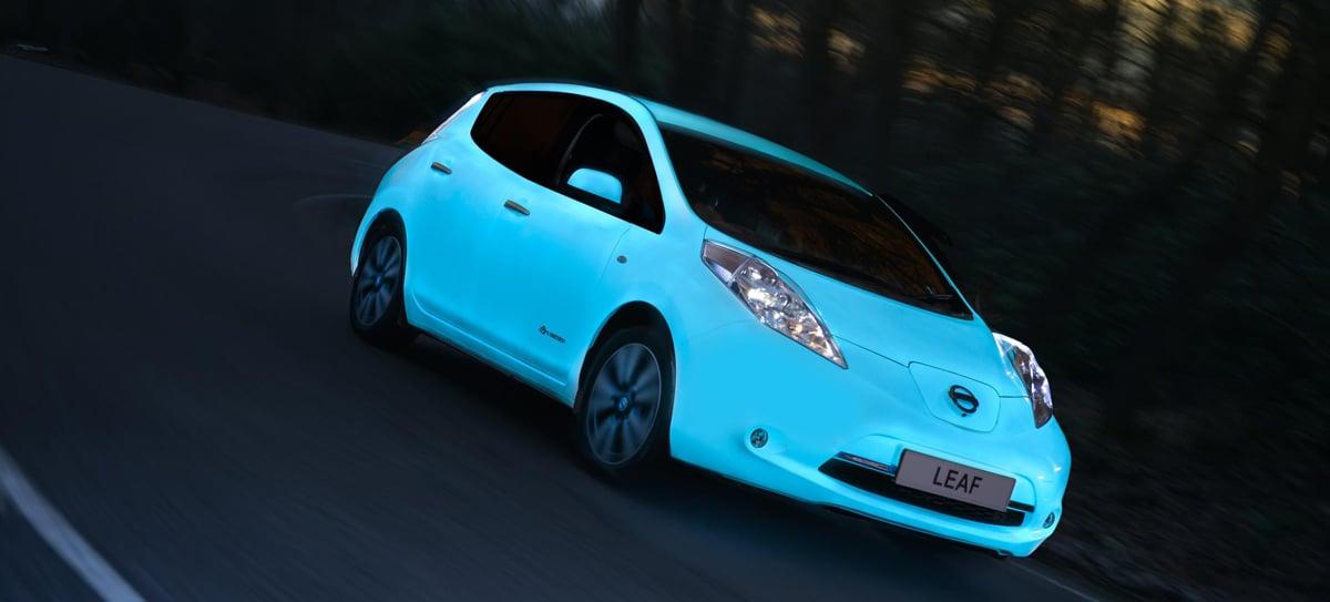 Nissan's Glow-in-the-Dark LEAF