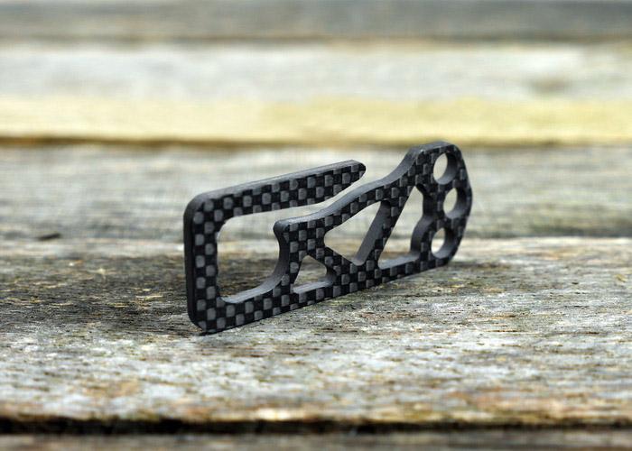 Carboneer Carbon Fiber Key Clip