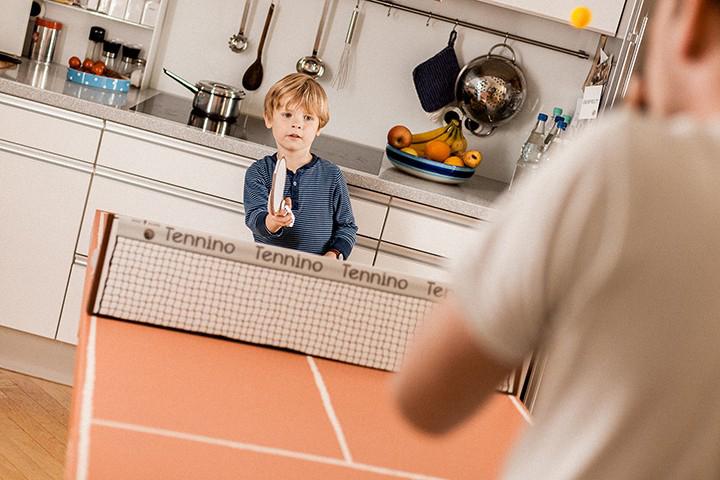 Cardboard Table Tennis Set