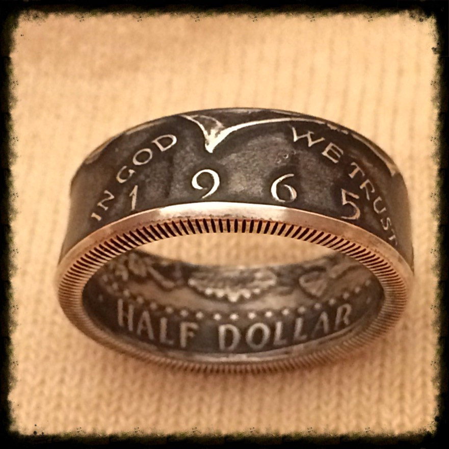 Handmade Coin Rings