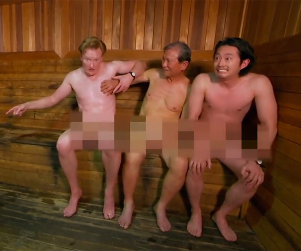 Conan & Steven Yeun: Korean Spa