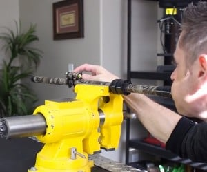 DIY Laser Guided Blowgun