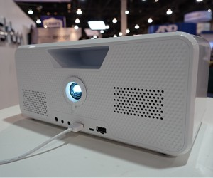 Flicks Portable Speaker & Projector