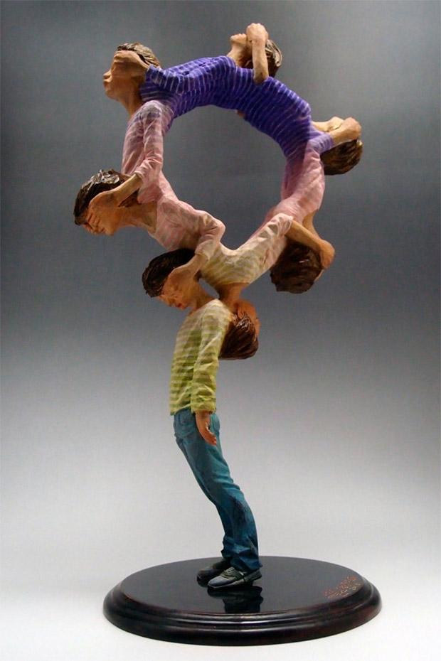 Kanemaki Yoshitoshi's Sculptures