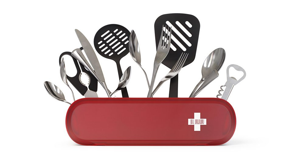 Swissarmius Kitchen Tool Holder