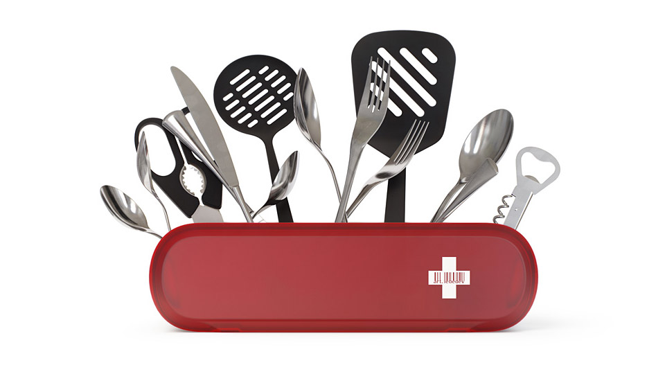 Swissarmius Kitchen Tool Holder