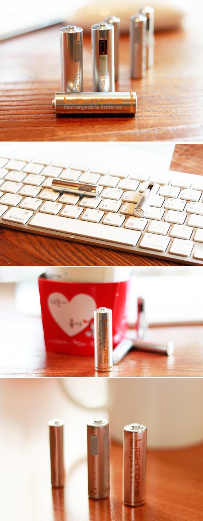 Lightors USB Rechargeable Batteries