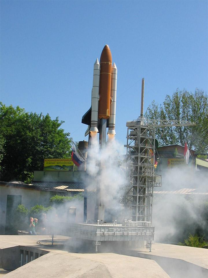 Minimundus Space Shuttle